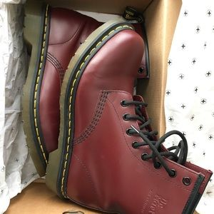 Cherry Red 1460 Dr. Martens